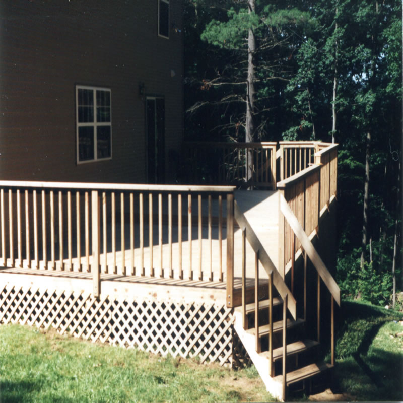Modular Split Level Deck: Alan Soucy Home Improvement: Enhance Your Outdoor Living